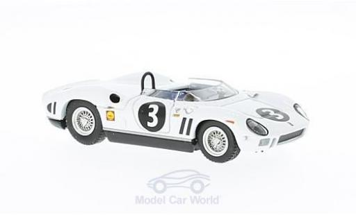 Ferrari 330 1/43 Art Model P RHD No.3 GP Canada 1964 Chassis: 0818 L.Scarfiotti miniature