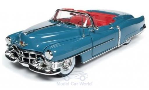 Cadillac Eldorado 1/18 Auto World Convertible bleue 1953 miniature