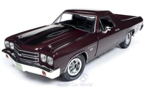 Chevrolet El Camino 1/18 Auto World rouge 1970 miniature