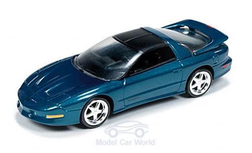 Pontiac Firebird 1/64 Auto World T/A metallise verte/matt-noire 1993 miniature