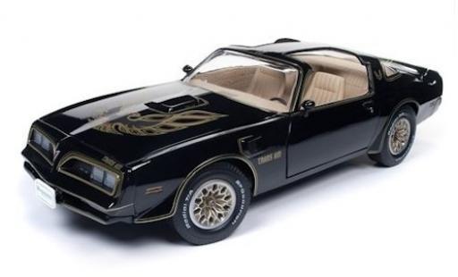 Pontiac Trans Am 1/18 Auto World Firebird noire/Dekor 1967 miniature