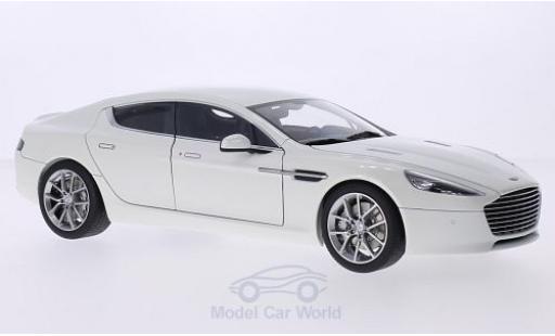 Aston Martin Rapide 1/18 AUTOart S metallise blanche 2015 miniature