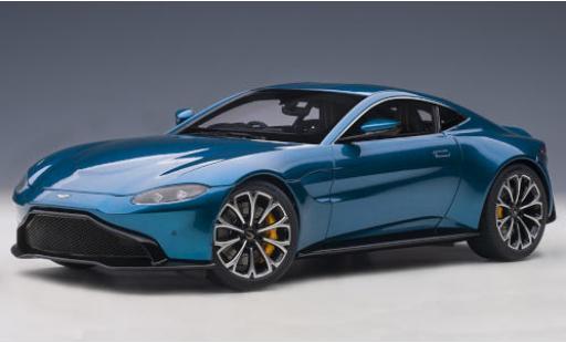 Aston Martin Vantage 1/18 AUTOart metallise bleue RHD 2019 miniature