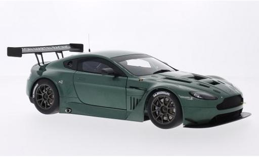 Aston Martin Vantage 1/18 AUTOart V12 GT3 metallise green 2013 Plain Body Version diecast model cars