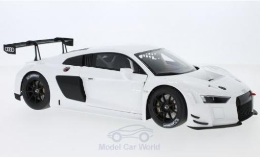 Audi R8 1/18 AUTOart LMS blanche 2016 Plain Body Version miniature