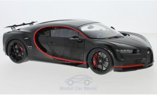 Bugatti Chiron 1/18 AUTOart noire 2017 miniature