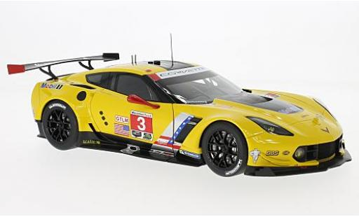 Chevrolet Corvette 1/18 AUTOart C7.R No.3 Lime Rock Park 2016 A.Garcia/J.Magnussen diecast model cars
