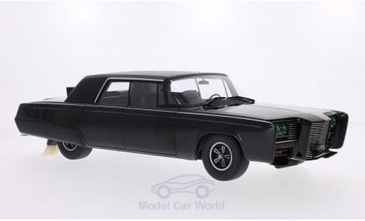 Chrysler Imperial 1/18 AUTOart Black Beauty noire 1966 TV-Serie - Green Hornet miniature