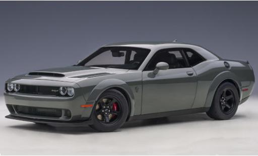 Dodge Challenger 1/18 AUTOart SRT Demon grey diecast model cars