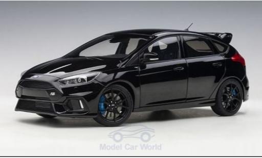Ford Focus 1/18 AUTOart MKIII RS black 2016 diecast model cars