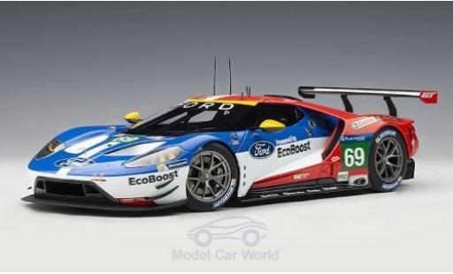 Ford GT 1/18 AUTOart bleue 2016 Plain Body Version miniature