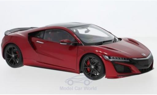 Honda NSX 1/18 AUTOart (NC1) metallise red RHD 2016 diecast model cars