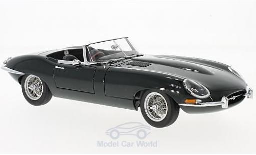Jaguar E-Type 1/18 AUTOart Roadster Series I 3.8 verte RHD 1961 miniature