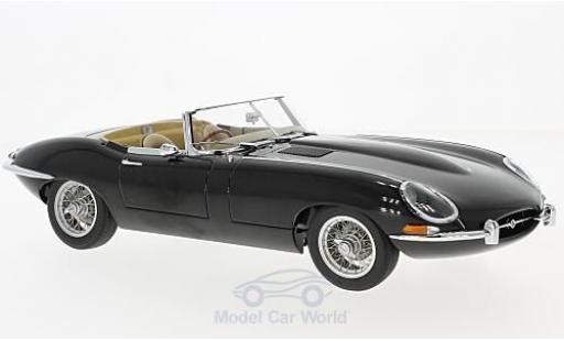 Jaguar E-Type 1/18 AUTOart Roadster Series I 3.8 noire RHD 1961 miniature