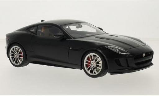 Jaguar F-Type 1/18 AUTOart R Coupe matt-noire RHD 2015 miniature