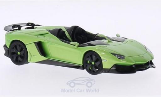 Lamborghini Aventador Roadster 1/43 AUTOart J metallise green 2012 diecast model cars