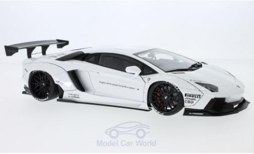 Lamborghini Aventador 1/18 AUTOart Liberty Walk LB-Works white 2015 diecast