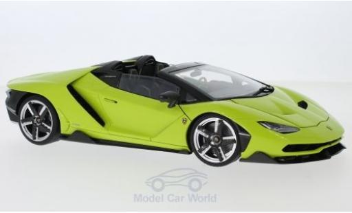 Lamborghini Centenario 1/18 AUTOart Roadster green 2016 diecast model cars