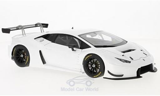 Lamborghini Huracan 1/18 AUTOart GT3 white 2015 diecast