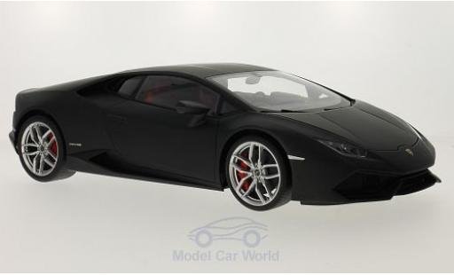 Lamborghini Huracan 1/18 AUTOart LP610-4 matt-black 2014 diecast model cars