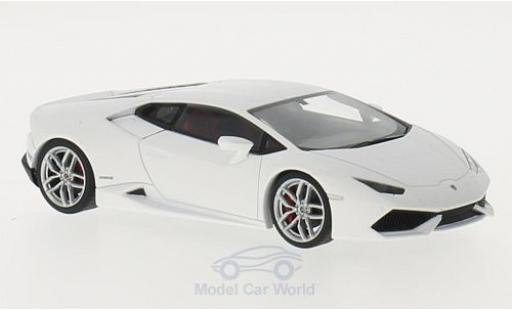 Lamborghini Huracan 1/43 AUTOart LP610-4 matt-white 2014 diecast
