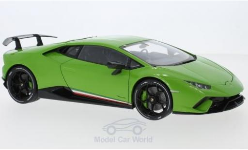 Lamborghini Huracan 1/18 AUTOart Performante metallic green 2017