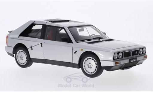Lancia Delta S4 1/18 AUTOart metallise grey 1985 diecast model cars