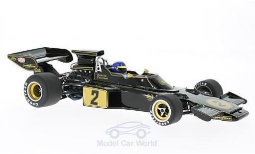 Lotus 72 1/18 AUTOart E No.2 John Player Special Formel 1 1973 mit Fahrerfigur R.Peterson diecast model cars