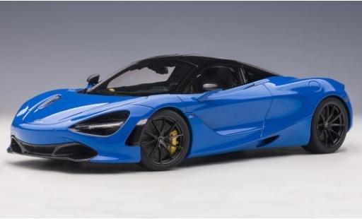 McLaren 720 1/18 AUTOart S metallise blue 2017 diecast model cars