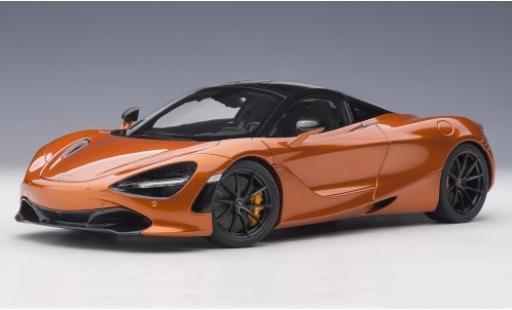 McLaren 720 1/18 AUTOart S metallise orange 2017 miniature