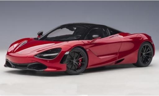 McLaren 720 1/18 AUTOart S metallise red 2017 diecast model cars