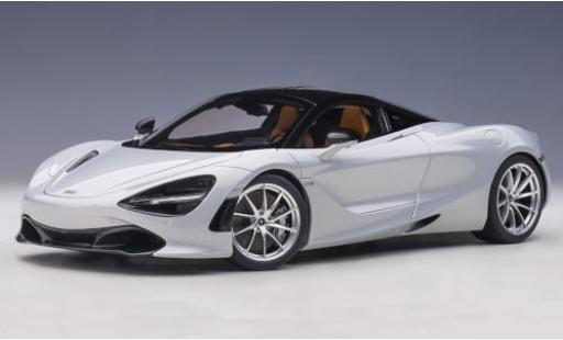McLaren 720 1/18 AUTOart S metallise blanche 2017 miniature