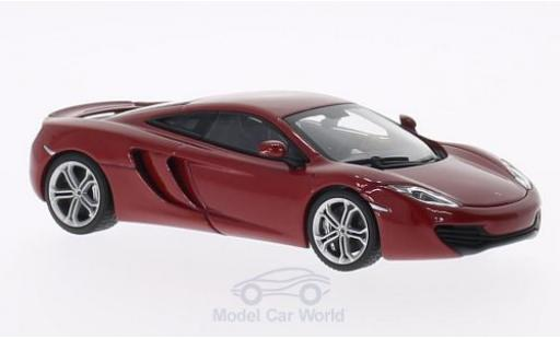 McLaren MP4-12C 1/43 AUTOart rouge 2011 miniature