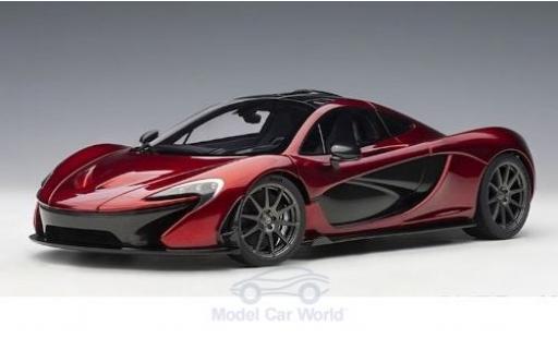 McLaren P1 1/18 AUTOart metallise rouge 2013 miniature