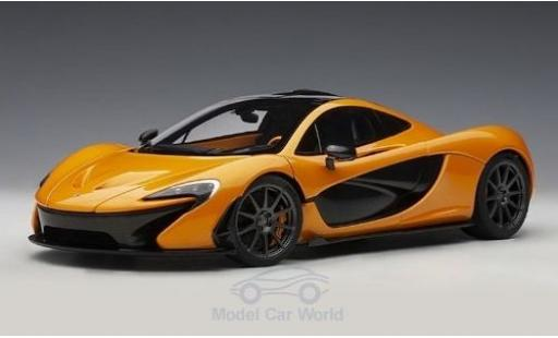 McLaren P1 1/18 AUTOart orange 2013 miniature