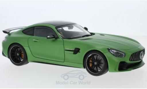 Mercedes AMG GT 1/18 AUTOart R matt-green 2017 diecast model cars