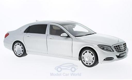 Mercedes CLA 1/18 AUTOart Maybach Classe S (S600) (SWB) grise 2015 miniature