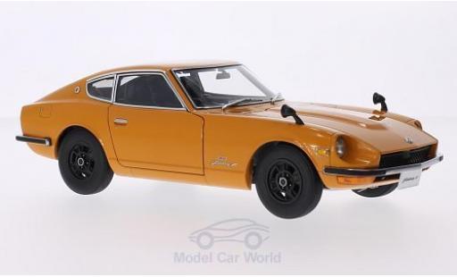 Nissan Fairlady Z 1/18 AUTOart 432 (PS30) orange RHD miniature