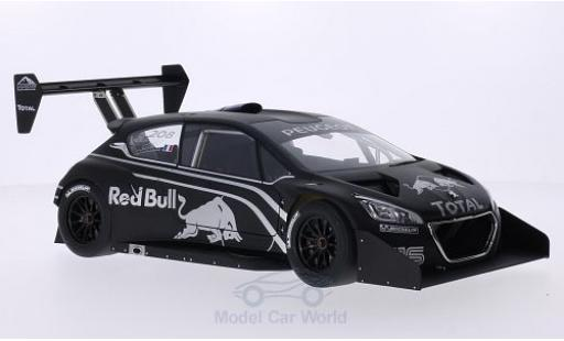 Peugeot 208 T16 1/18 AUTOart matt-noire/Dekor International Hill Climb Pikes Peak Präsentationsfahrzeug miniature