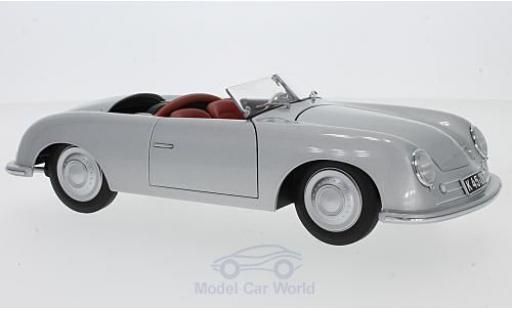 Porsche 356 1/18 AUTOart Nummer 1 grise 1948 miniature