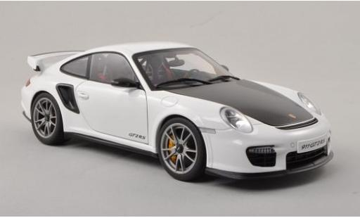 Porsche 997 GT2 RS 1/18 AUTOart 911  white/carbon 2010 diecast model cars