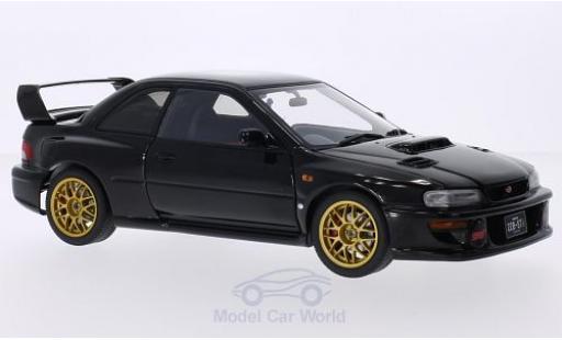 Subaru Impreza 1/18 AUTOart 22B black 1998 diecast model cars