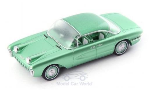 Chevrolet Biscayne 1/43 AutoCult XP-37 metallise green 1955 diecast model cars