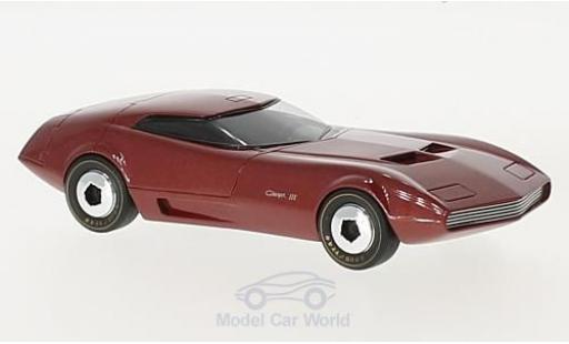 Dodge Charger 1968 1/43 AutocultAvenue 43 III metallic-red 1968 diecast