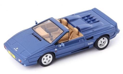Lotus Esprit 1/43 AutoCult Turbo PBB St. Tropez Convertible metallise bleue RHD 1990 miniature