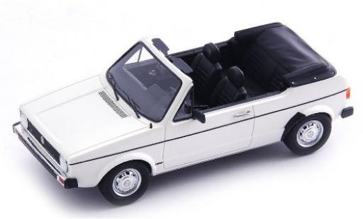 Volkswagen Golf 1/43 AutoCult I Cabriolet Prougeotyp blanche 1976 miniature