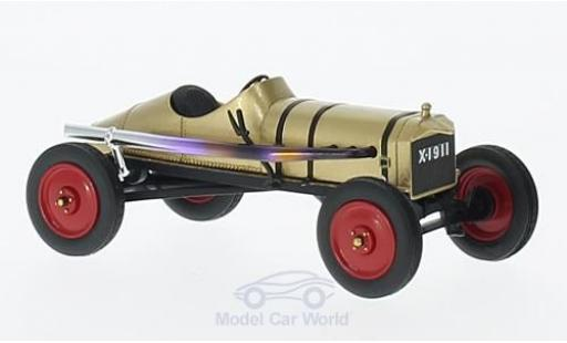 Ford Model T 1/43 AutoCult gold The Golden 1911 miniature