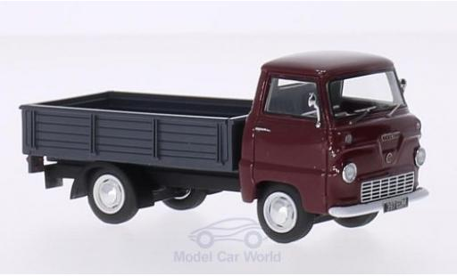 Ford Thames 1/43 AutoCult 400E rouge/grise 1957 miniature