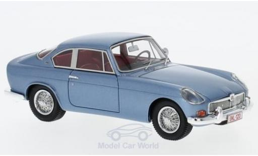 MG B 1/43 AutoCult Jaques Coune metallise blue 1964 diecast model cars