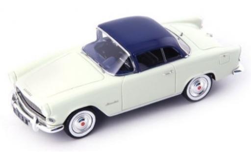 Simca Aronde 1/43 AutoCult Plein Ciel blanche/bleue 1957 miniature